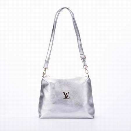 Sac Louis Vuitton Argenté