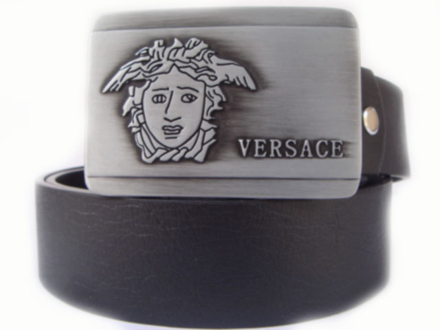 Graphiteceinture Homme En Boucle Ceinture ceinture Versace Cuir 8nO0wPk